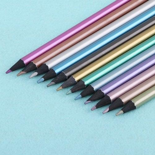 Metallic Shimmering Colored EcoPencils