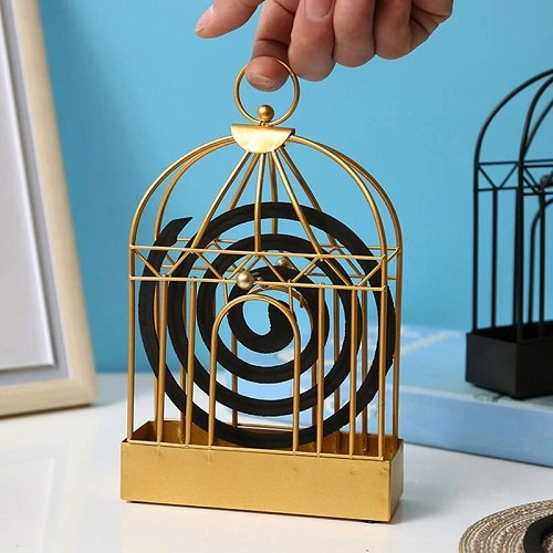 Retro Iron Mosquito Coil Holder