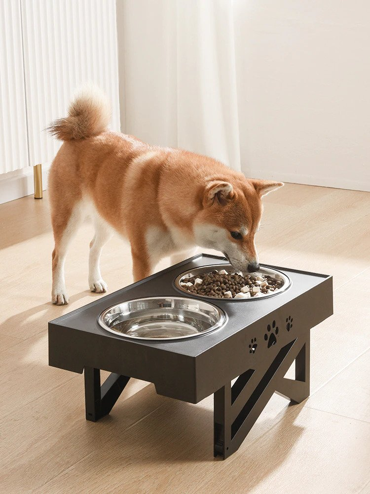 Adjustable Elevated Dog Feeder
