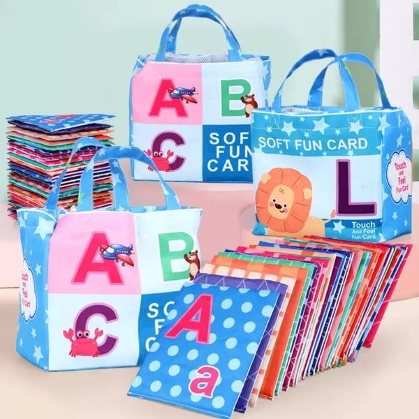 Happy ABC Soft Cards