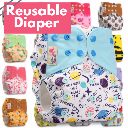 FriendlyNappy Reusable Diaper-4PCS