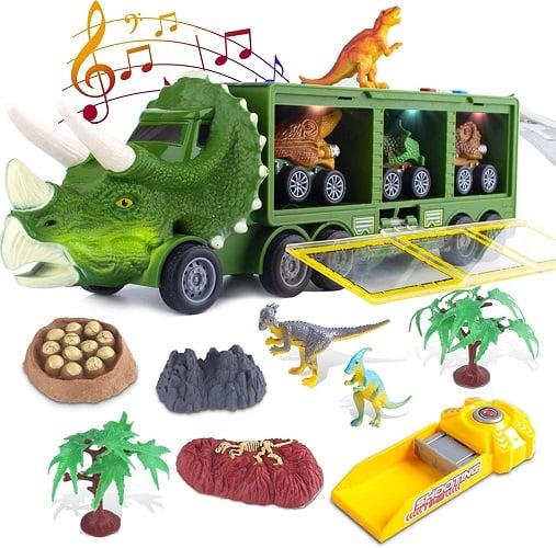 Dinosaur Transport Toy Car